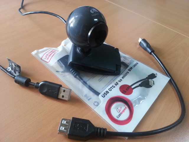 Can I use my old USB webcams with Alfred? - Make a Wish