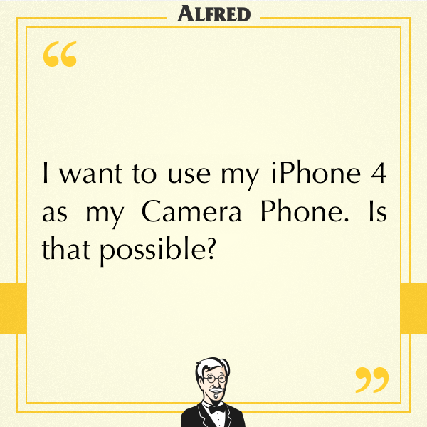 Can I Download Alfred on iPhone 4? - Frequently Asked - Alfred