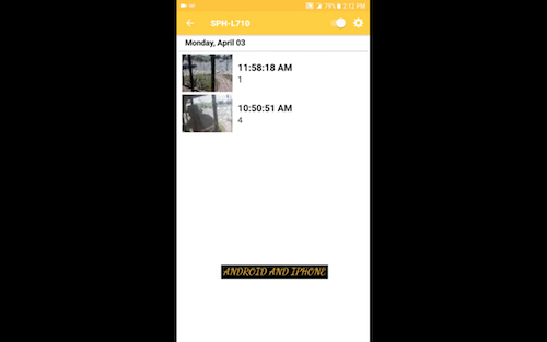 Free Home security camera app